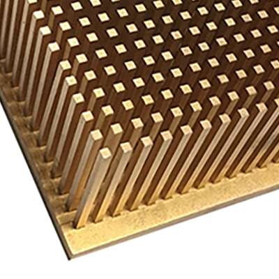 copper pin fin heat sink