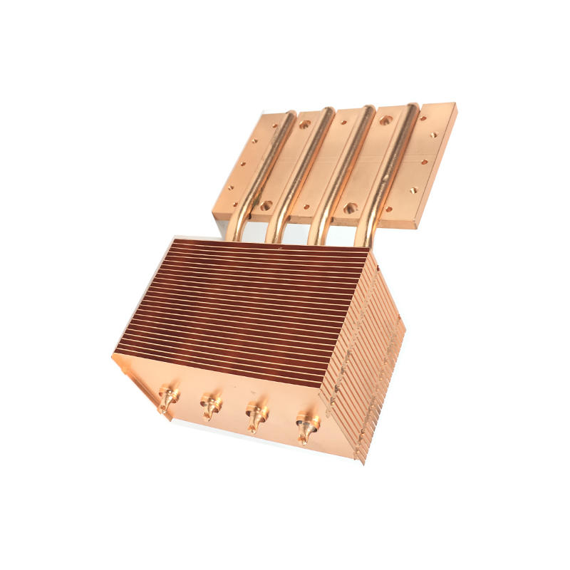 China Copper pipe heat sink