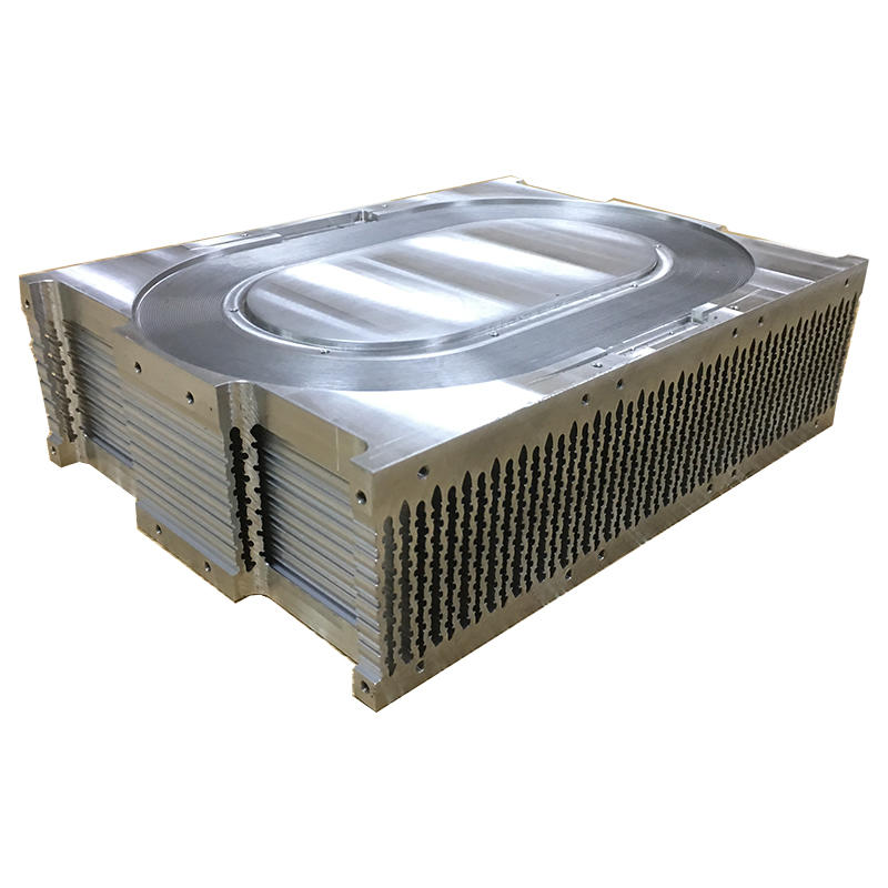 Stacked Fin Heat Sink For Laser Equipment From LORI