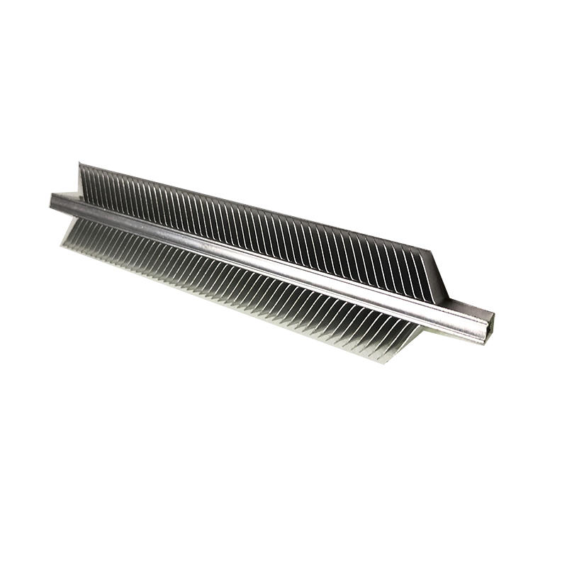 Double Side Skived Heatsink With Tube For  PTC Fan Heater From LORI