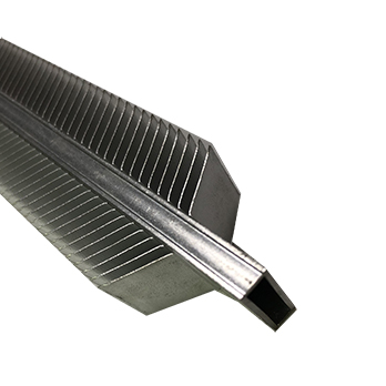 double skived heatsink tube