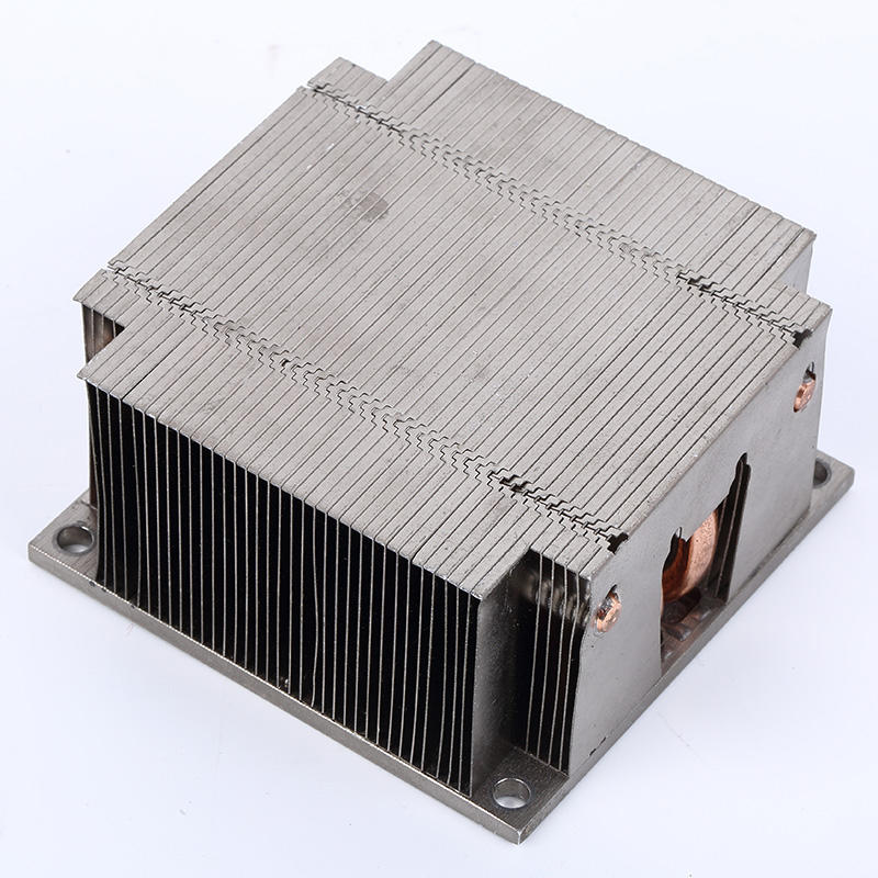 Soldering Heat Sink With Heat Pipe From Lori