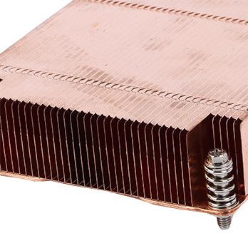 copper heat sink for welding