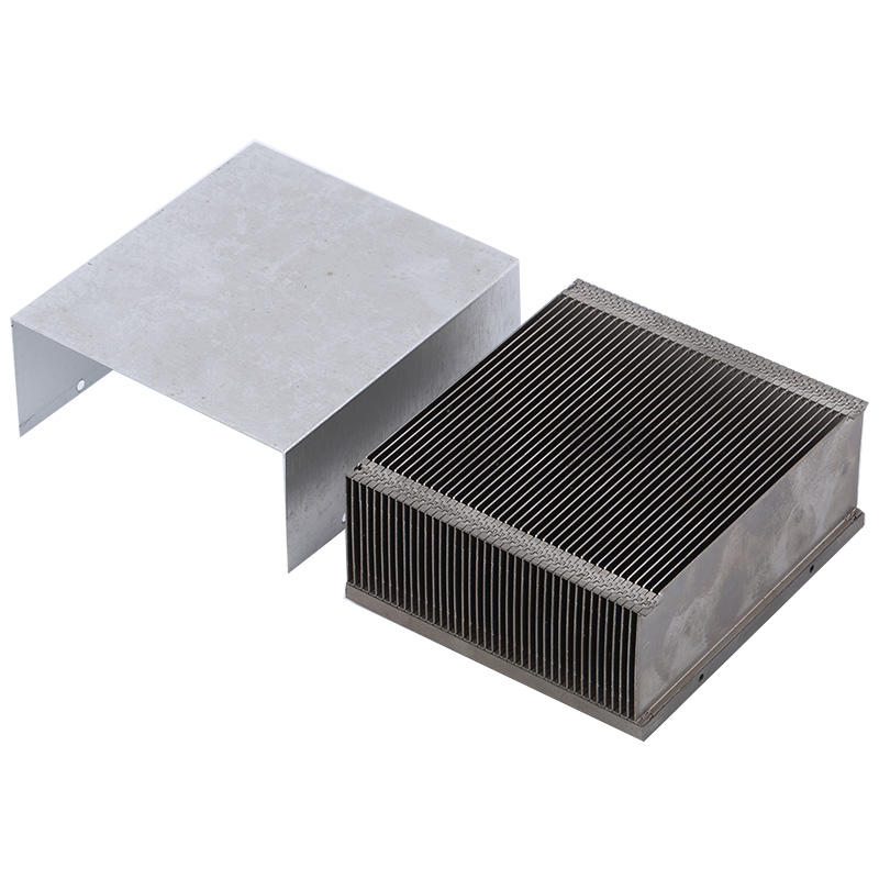 Soldering Heat Sink Aluminum zipper fin with cover from LORI