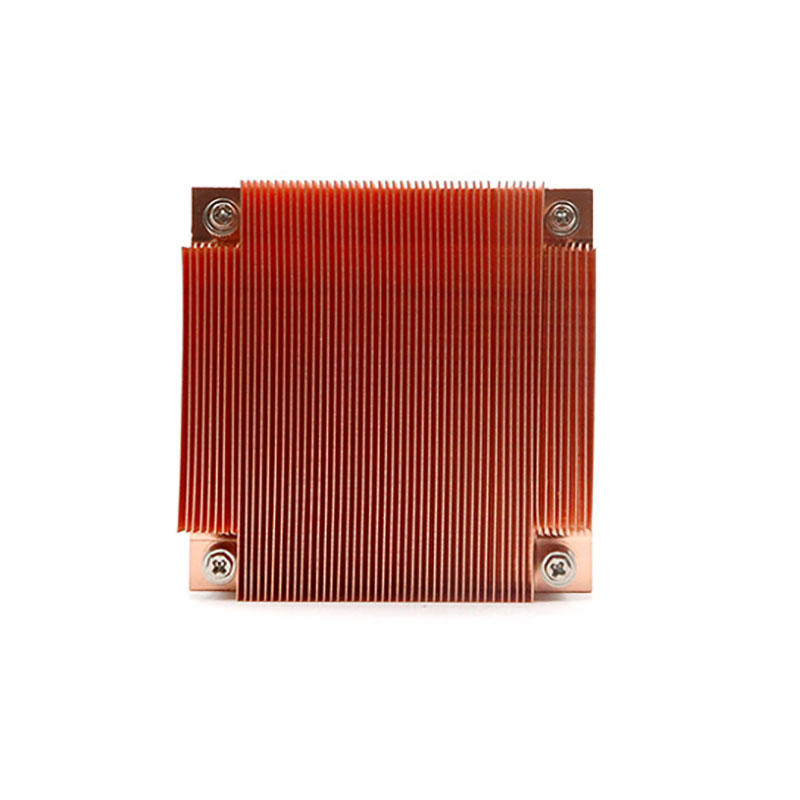 All copper heat sink with better thermal conductivity