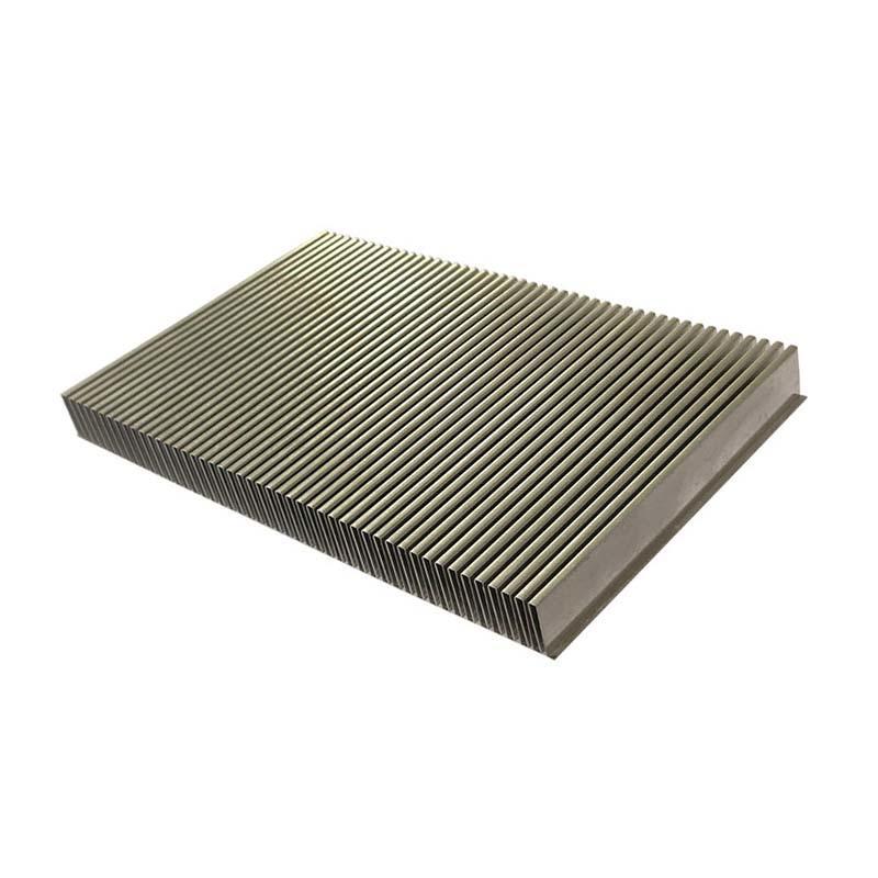 China Aluminum Folded Fin Heat Sink
