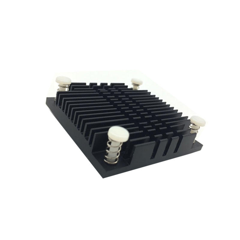 Bga Plate Fin Heatsink Aluminum 50x50x10mm