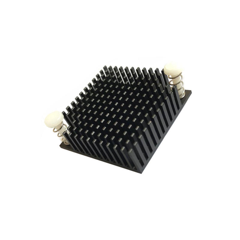 Aluminum Push Fin Bga Heatsink 35x35x10mm