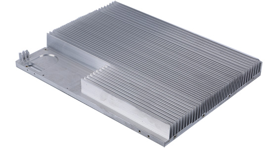 Extruded Heat Sinks Aluminum