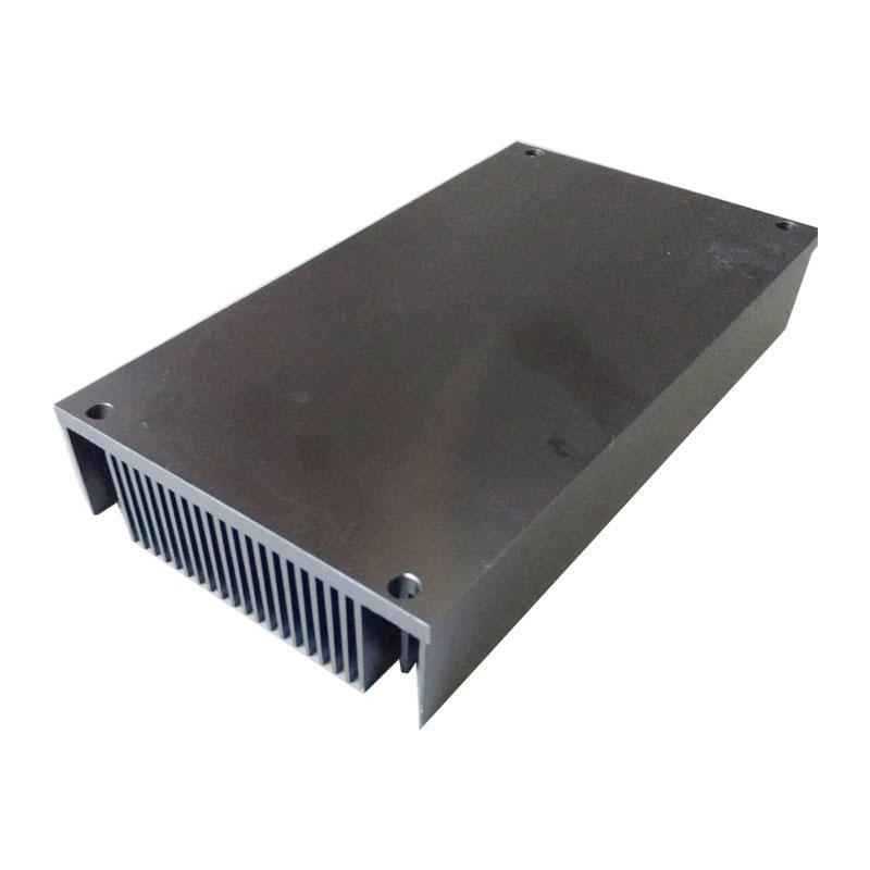 Led heat sink aluminum with black anodized