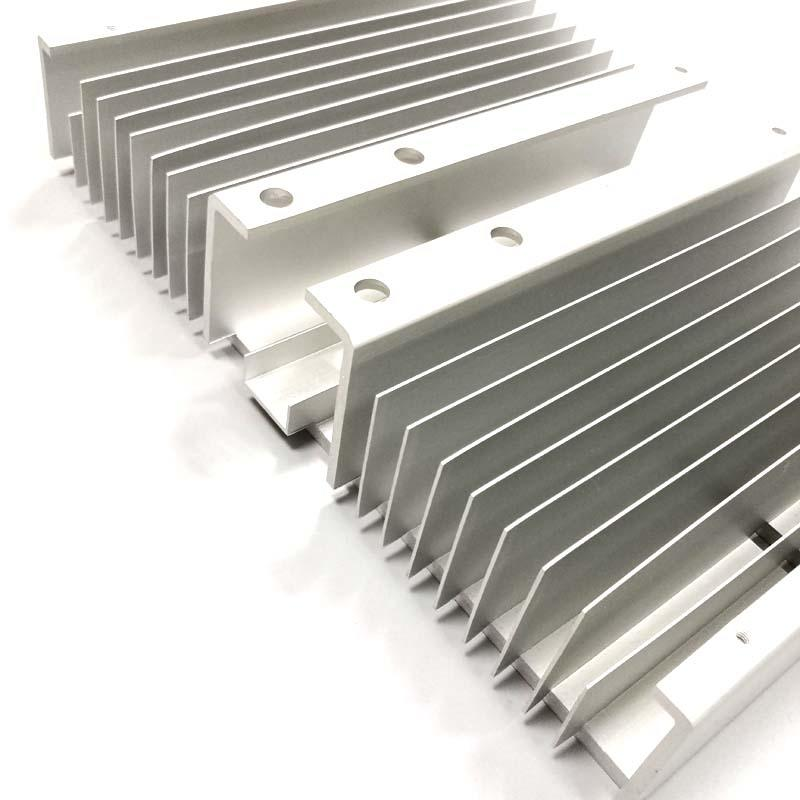 Heat sink for led with cnc maching