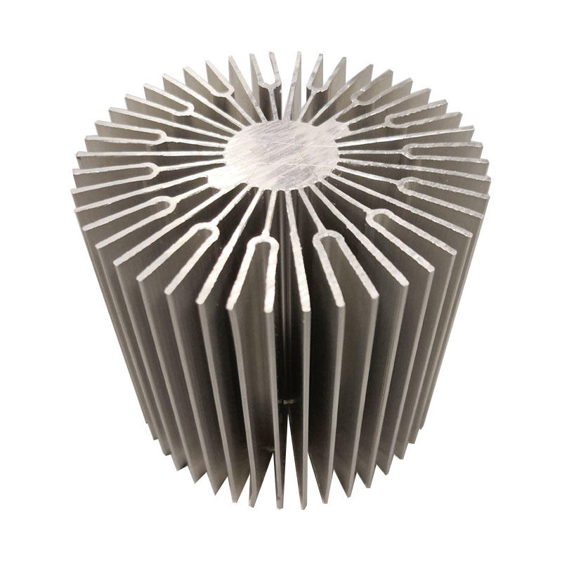 Round Aluminum Heat Sink For Led