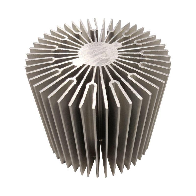 Sunflower ( Round)aluminum heat sink