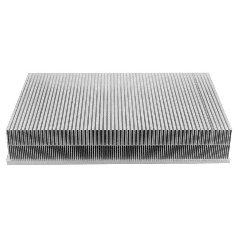Brazing heat sink for high power controllers
