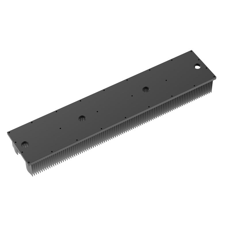 Skiving Aluminum Heatsink With Waved Fins