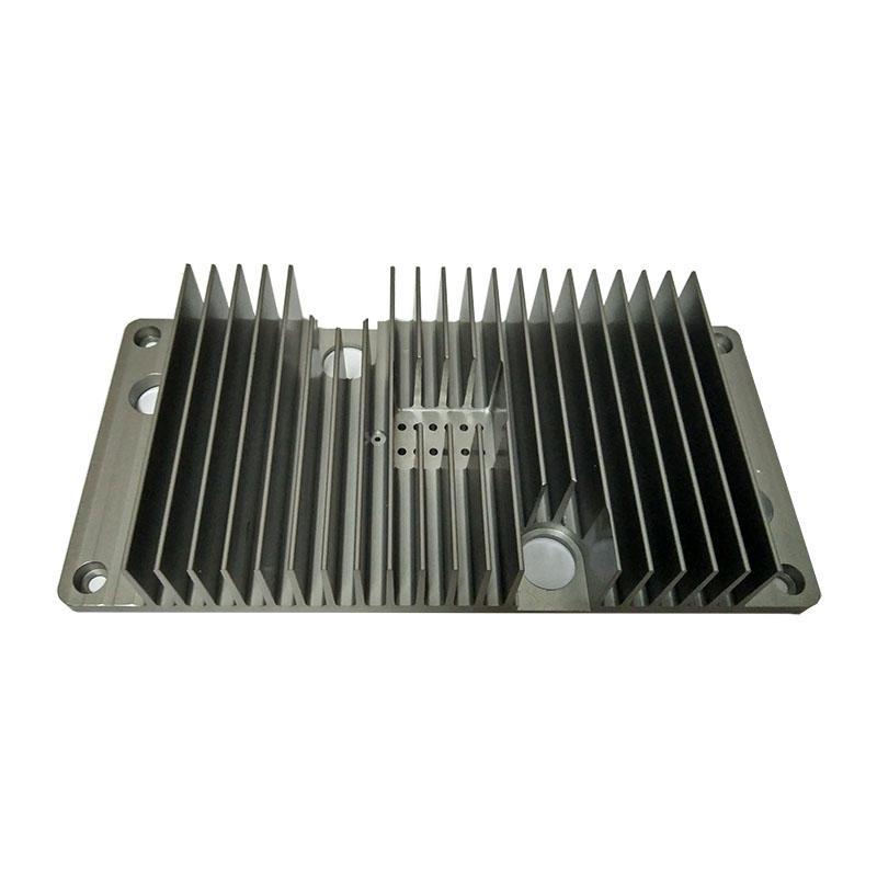 Hard Anodized Aluminium Extrusion Heat Sink