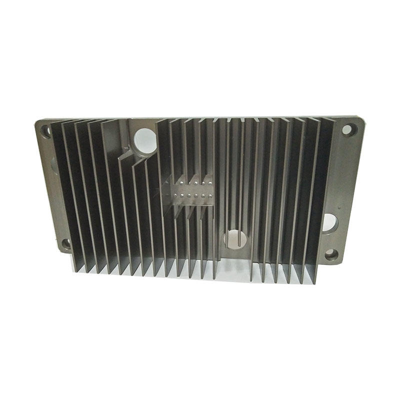 Hard Anodized Aluminium Extrusion Heat Sink