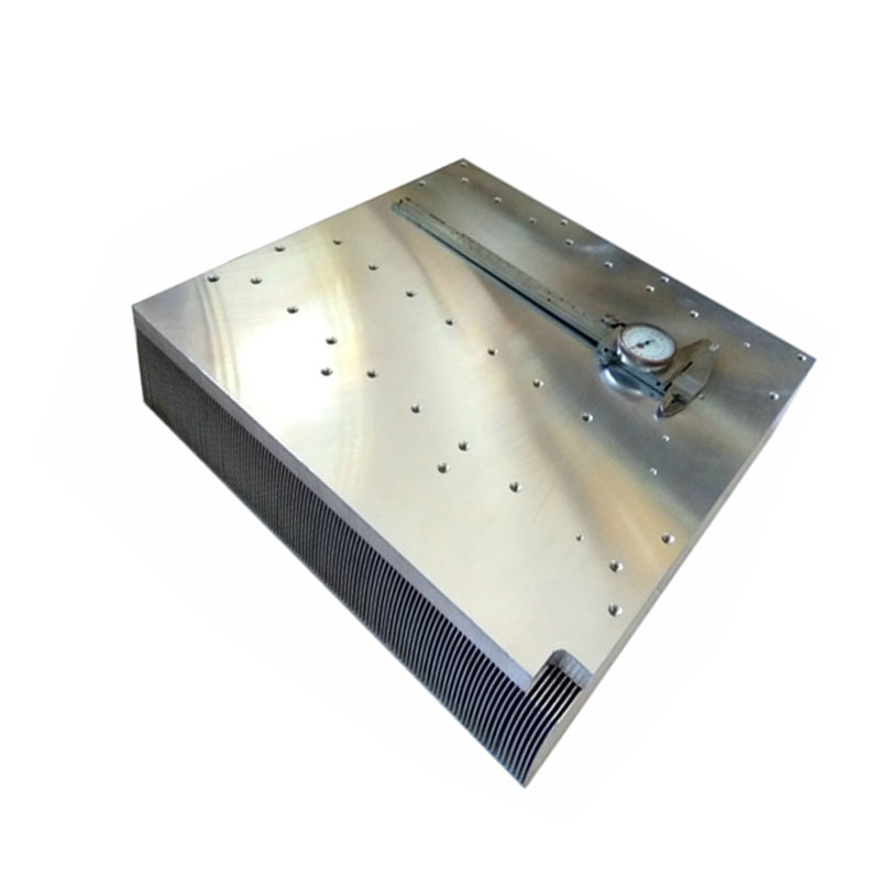 large aluminum skiving heat sink