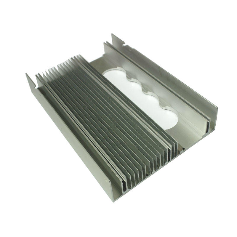 Extruded Aluminum Heat sink For Photovoltaic Inverter
