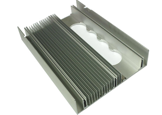 aluminum heat sink for photovoltaic inverter