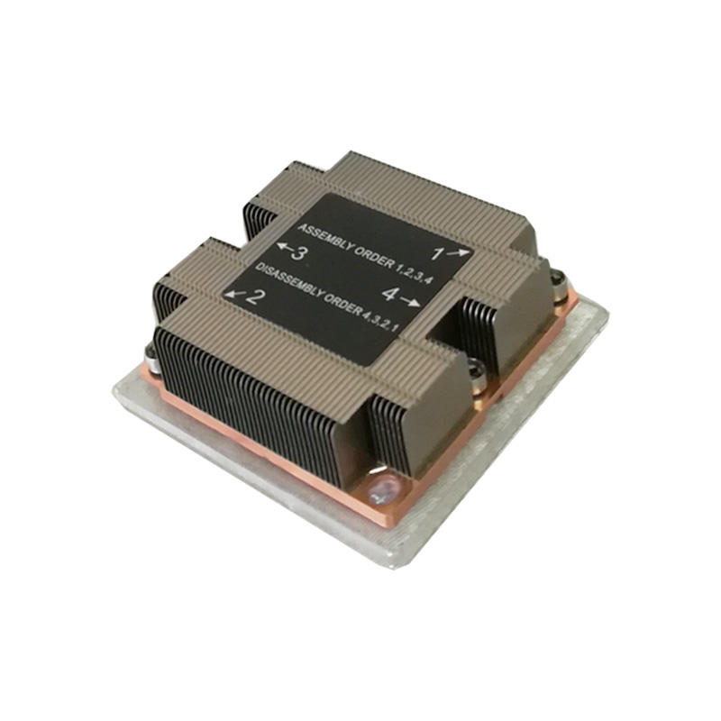 Passive1u Server Heatsink LGA3647 Square CPU Cooler