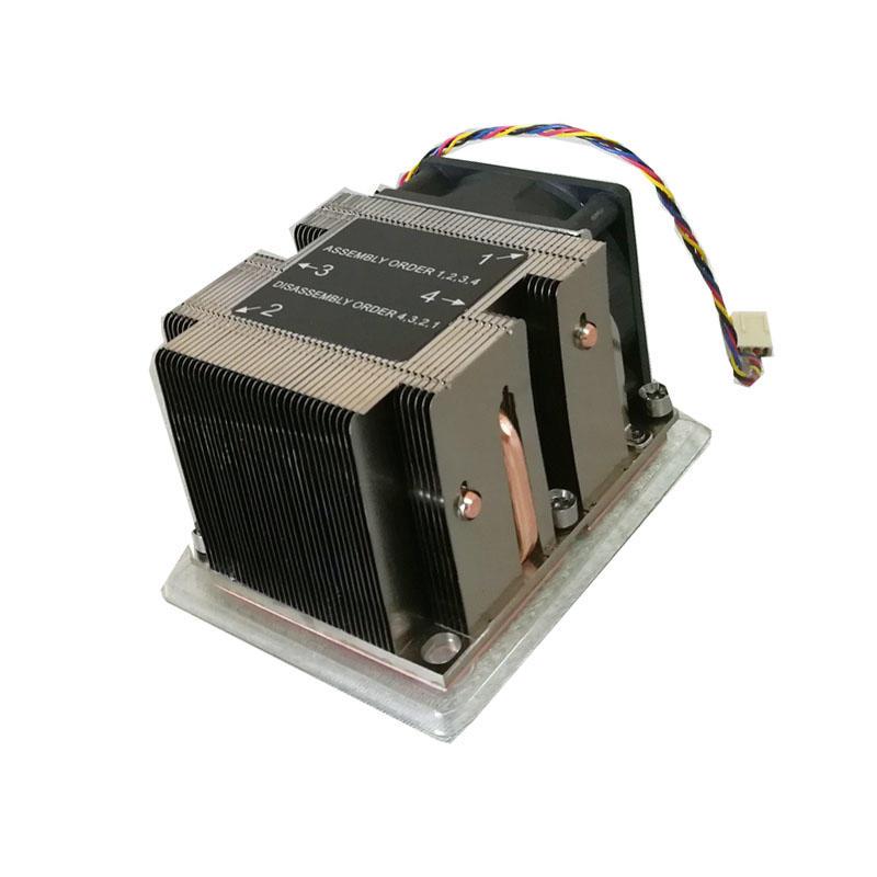 Active 2u Server Cpu Heat Sink Cooling LGA3647