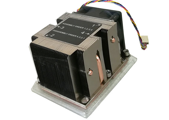 Active 2u Server Cpu Heat Sink