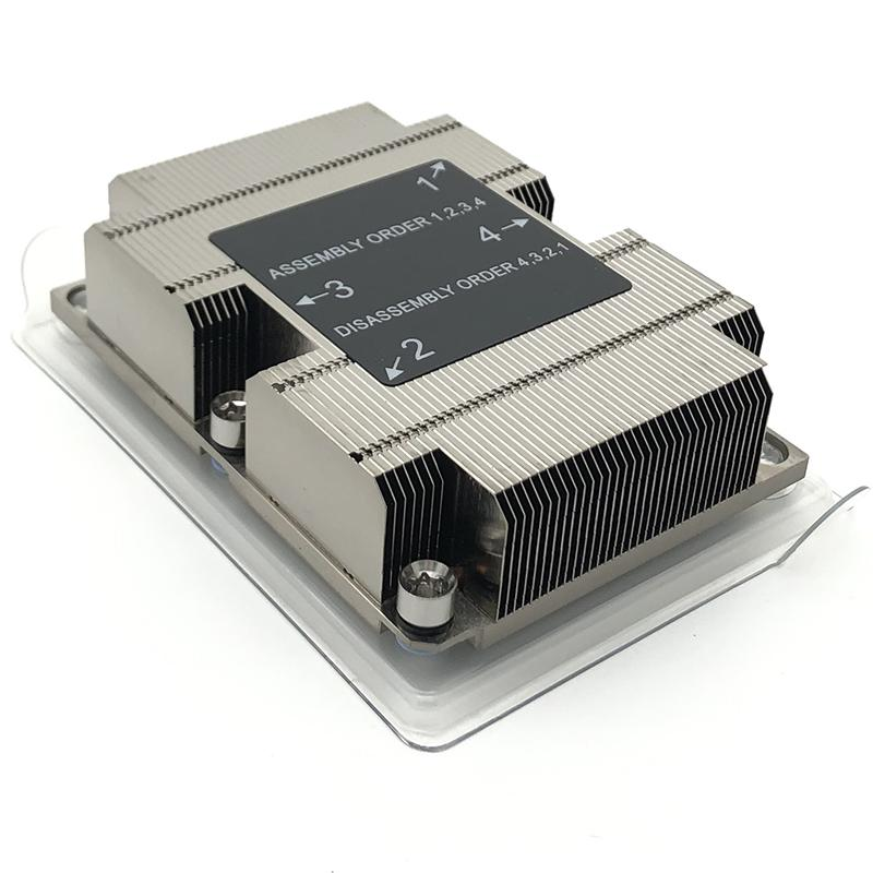 Intel LGA3647 Narrow 1u Server Passive CPU 3 Heat Pipe Heatsink