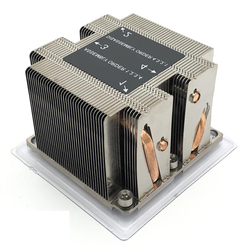 Intel LGA3647 Narrow 2U Server Passive CPU cooler