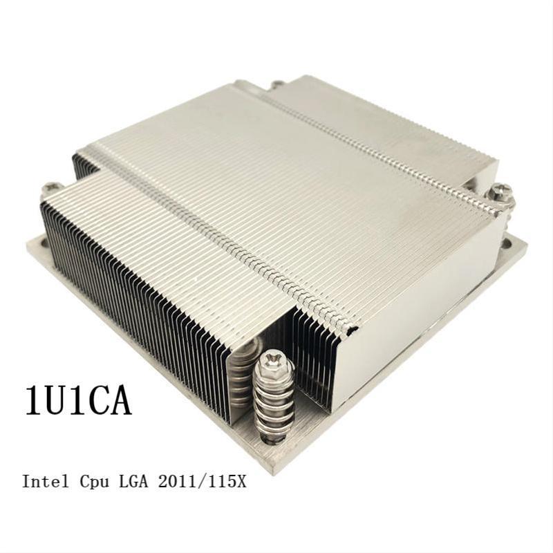 1U Zipper Fin Heat Sink For Intel CPU LGA2011/115X