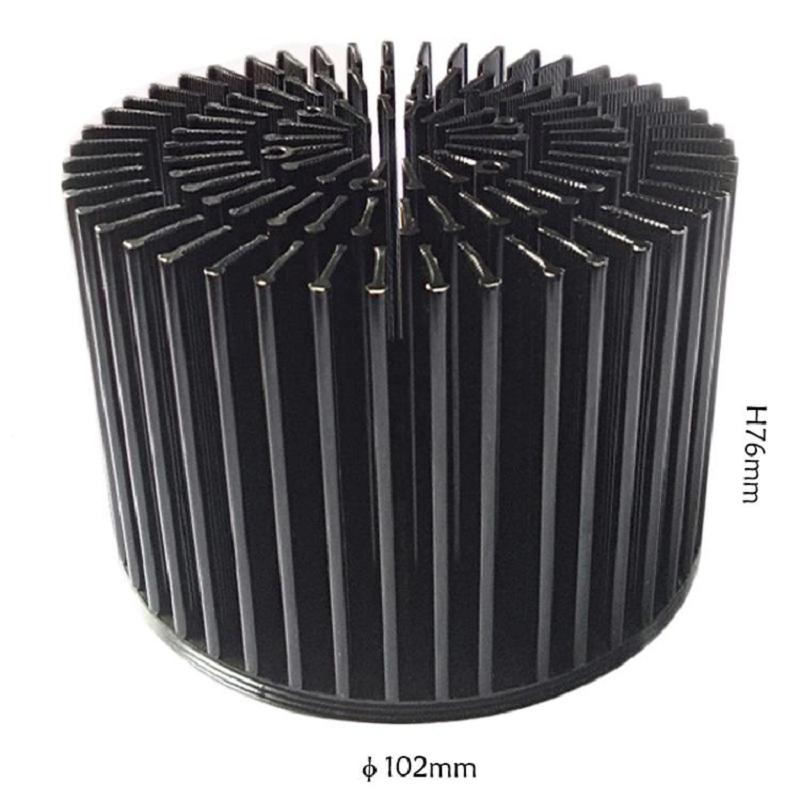 LED Cold Forging Aluminum COB Heat Sink For Down Light