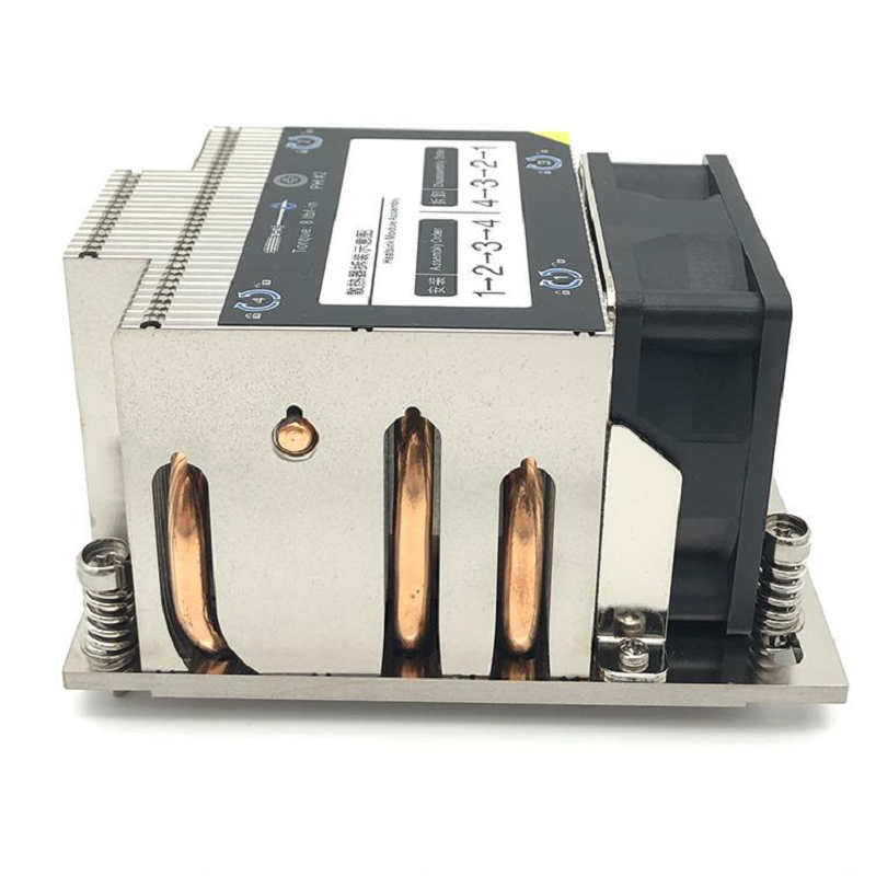 AMD SP3 2U Active Server CPU Heat Sink For Desktop Computer