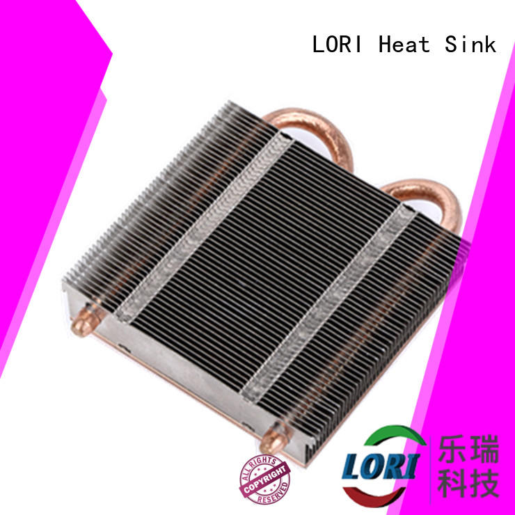 LORI nickel cpu heatsink metal assembled for medical equipment