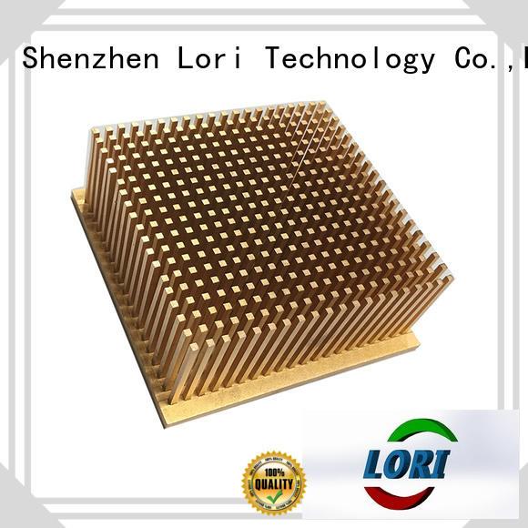 LORI OEM pin heatsink cold-forging for power converters