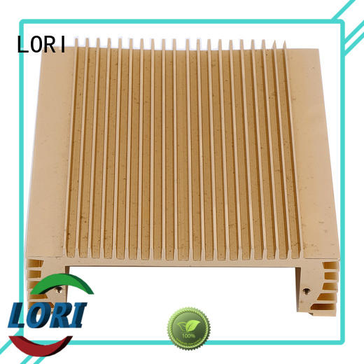LORI factory price aluminum extruded heat sink best manufacturer for cnc machining