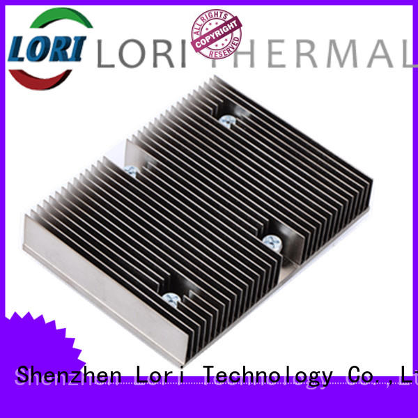LORI factory price skived heat sinks green-house for equipment