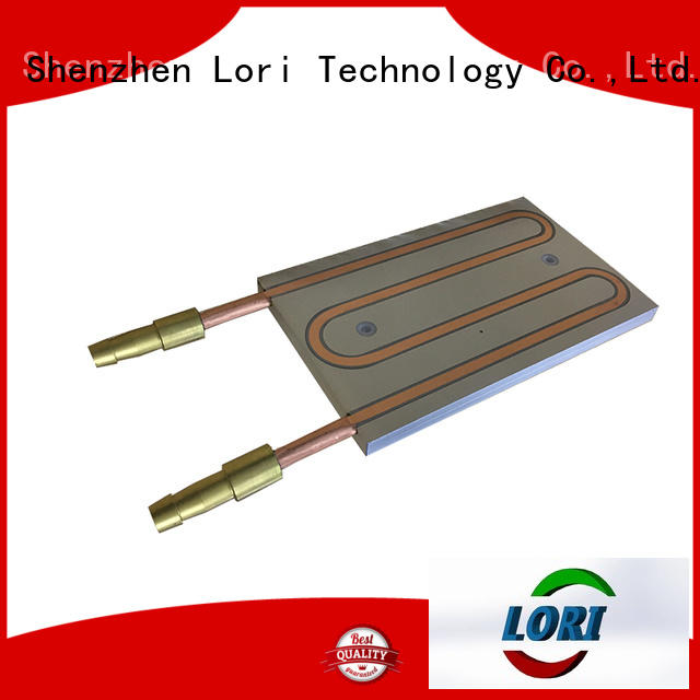 exposed cooling plate for high precision LORI