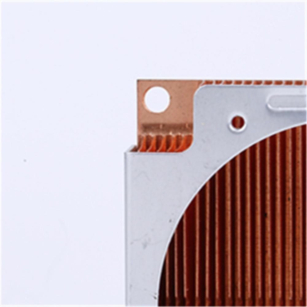 Copper skived fin heatsink